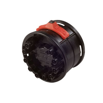 1 / 16 Hose Barb Non-Valved Acetal Molded Black Coupling Assembly